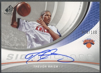 2005/06 SP Game Used #TR Trevor Ariza SIGnificance Auto /100