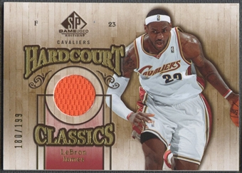 2007/08 SP Game Used #HCLA LeBron James Hardcourt Classics Jersey #180/199
