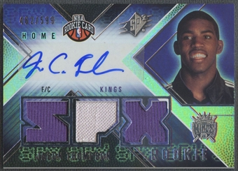 2008/09 SPx #132 Jason Thompson Rookie Jersey Auto #462/599