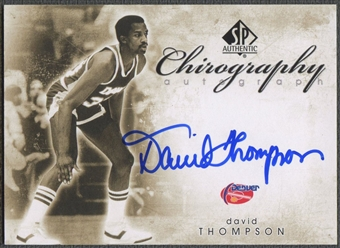 2008/09 SP Authentic #CDT David Thompson Chirography Auto