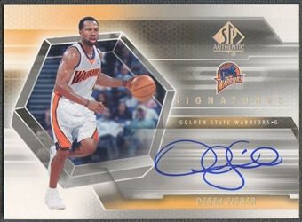 2004/05 SP Authentic #DF Derek Fisher Signatures Auto