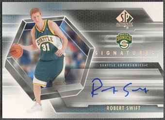 2004/05 SP Authentic #RS Robert Swift Signatures Rookie Auto