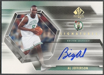 2004/05 SP Authentic #AL Al Jefferson Signatures Rookie Auto