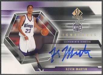 2004/05 SP Authentic #KE Kevin Martin Signatures Rookie Auto