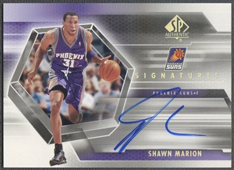 2004/05 SP Authentic #SH Shawn Marion Signatures Auto