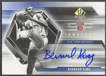 2004/05 SP Authentic #BK Bernard King Signatures Auto