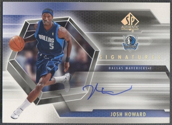 2004/05 SP Authentic #JH Josh Howard Signatures Auto