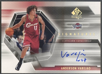 2004/05 SP Authentic #AV Anderson Varejao Signatures Rookie Auto