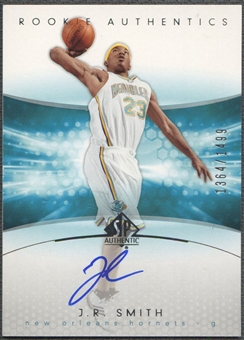 2004/05 SP Authentic #170 J.R. Smith Rookie Auto /1499