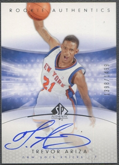 2004/05 SP Authentic #147 Trevor Ariza Rookie Auto /1499