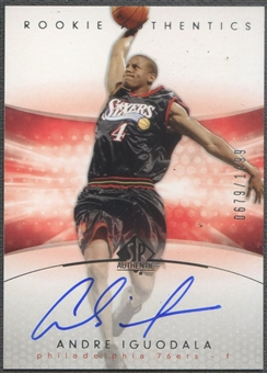 2004/05 SP Authentic #179 Andre Iguodala Rookie Auto /1499