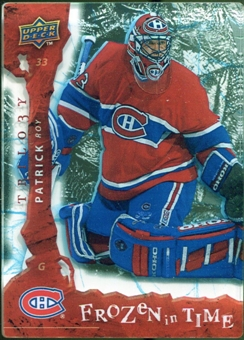 2008/09 Upper Deck Trilogy Frozen in Time #103 Patrick Roy /799