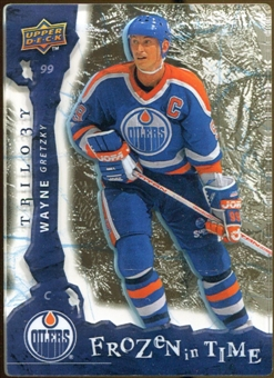 2008/09 Upper Deck Trilogy Frozen in Time #120 Wayne Gretzky /799