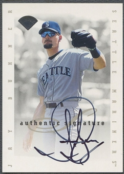 1996 Leaf Signature Extended #19 Jay Buhner Auto