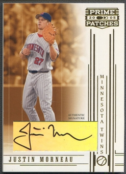 2005 Prime Patches #45 Justin Morneau Auto