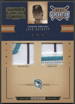 2005 Prime Patches #2 Josh Beckett Next Generation Double Patch #078/113