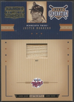 2005 Prime Patches #45 Justin Morneau Materials Bat #006/150