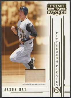2005 Prime Patches #61 Jason Bay Materials Bat #028/150