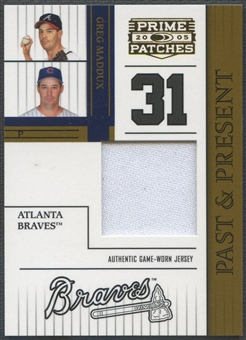 2005 Prime Patches #1 Greg Maddux Past and Present Jersey #111/150