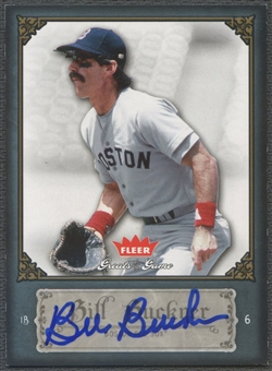 2006 Greats of the Game #5 Bill Buckner Auto