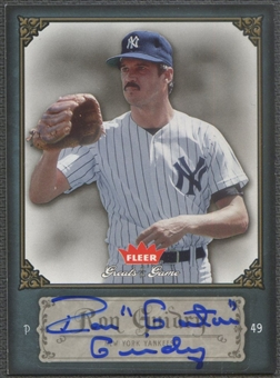 "2006 Greats of the Game #80 Ron Guidry Auto ""Gator"""