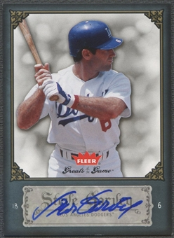 2006 Greats of the Game #87 Steve Garvey Auto