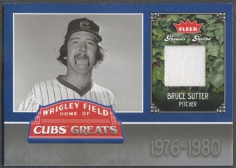 2006 Greats of the Game #BS Bruce Sutter Cubs Greats Memorabilia Pants