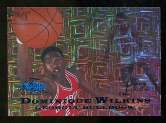2012/13 Upper Deck Fleer Retro 97-98 Flair Legacy Row 0 #97FL1 Dominique Wilkins /100