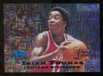 2012/13 Upper Deck Fleer Retro 97-98 Flair Legacy Row 0 #97FL5 Isiah Thomas /100