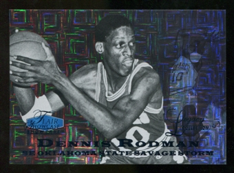 2012/13 Upper Deck Fleer Retro 97-98 Flair Legacy Row 0 #97FL6 Dennis Rodman /100