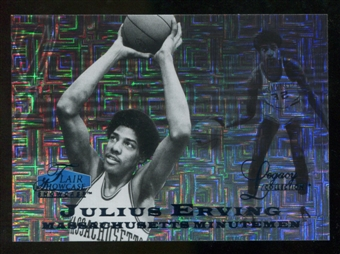 2012/13 Upper Deck Fleer Retro 97-98 Flair Legacy Row 0 #97FL9 Julius Erving /100