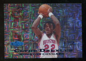 2012/13 Upper Deck Fleer Retro 97-98 Flair Legacy Row 0 #97FL15 Clyde Drexler /100