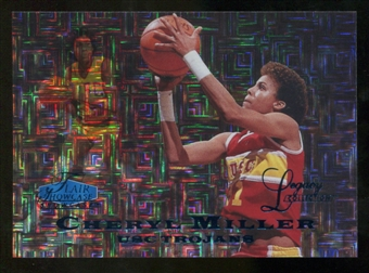 2012/13 Upper Deck Fleer Retro 97-98 Flair Legacy Row 0 #97FL21 Cheryl Miller /100