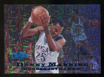 2012/13 Upper Deck Fleer Retro 97-98 Flair Legacy Row 0 #97FL26 Danny Manning /100