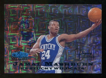 2012/13 Upper Deck Fleer Retro 97-98 Flair Legacy Row 0 #97FL27 Jamal Mashburn /100
