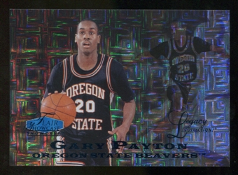 2012/13 Upper Deck Fleer Retro 97-98 Flair Legacy Row 0 #97FL29 Gary Payton /100