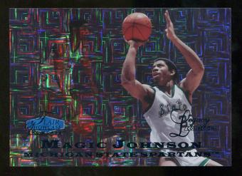 2012/13 Upper Deck Fleer Retro 97-98 Flair Legacy Row 0 #97FL32 Magic Johnson /100