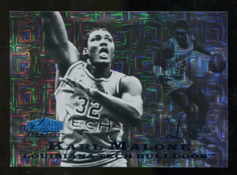 2012/13 Upper Deck Fleer Retro 97-98 Flair Legacy Row 0 #97FL38 Karl Malone /100