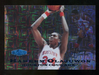 2012/13 Upper Deck Fleer Retro 97-98 Flair Legacy Row 0 #97FL39 Hakeem Olajuwon /100