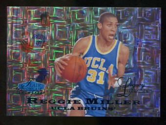 2012/13 Upper Deck Fleer Retro 97-98 Flair Legacy Row 0 #97FL40 Reggie Miller /100