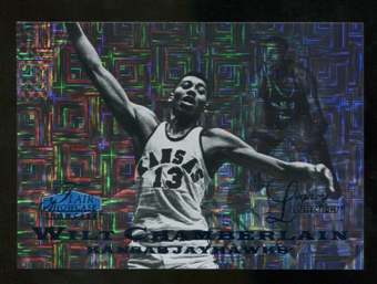 2012/13 Upper Deck Fleer Retro 97-98 Flair Legacy Row 0 #97FL45 Wilt Chamberlain /100