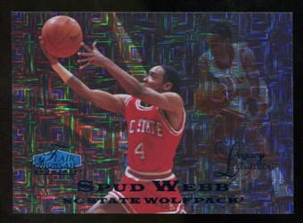 2012/13 Upper Deck Fleer Retro 97-98 Flair Legacy Row 0 #97FL49 Spud Webb /100