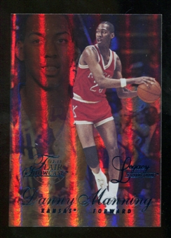 2012/13 Upper Deck Fleer Retro 96-97 Flair Legacy Row 1 #96FL5 Danny Manning /150