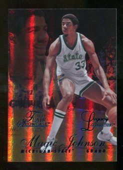 2012/13 Upper Deck Fleer Retro 96-97 Flair Legacy Row 1 #96FL7 Magic Johnson 62/150