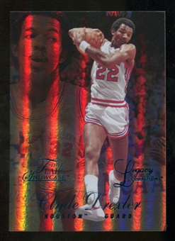 2012/13 Upper Deck Fleer Retro 96-97 Flair Legacy Row 1 #96FL9 Clyde Drexler /150