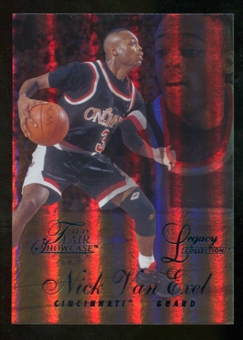 2012/13 Upper Deck Fleer Retro 96-97 Flair Legacy Row 1 #96FL16 Nick Van Exel /150