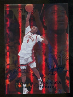 2012/13 Upper Deck Fleer Retro 96-97 Flair Legacy Row 1 #96FL21 Larry Johnson /150