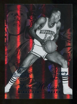 2012/13 Upper Deck Fleer Retro 96-97 Flair Legacy Row 1 #96FL22 Lou Hudson /150