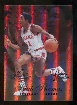 2012/13 Upper Deck Fleer Retro 96-97 Flair Legacy Row 1 #96FL25 Isiah Thomas /150