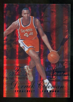 2012/13 Upper Deck Fleer Retro 96-97 Flair Legacy Row 1 #96FL28 Derrick Coleman /150